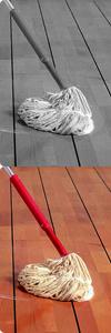 Holzböden reinigen