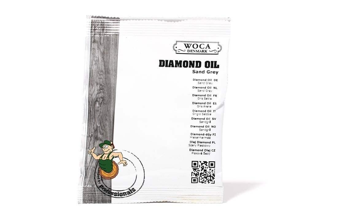 Diamond Öl Sandgrau ca. 25 ml Probe