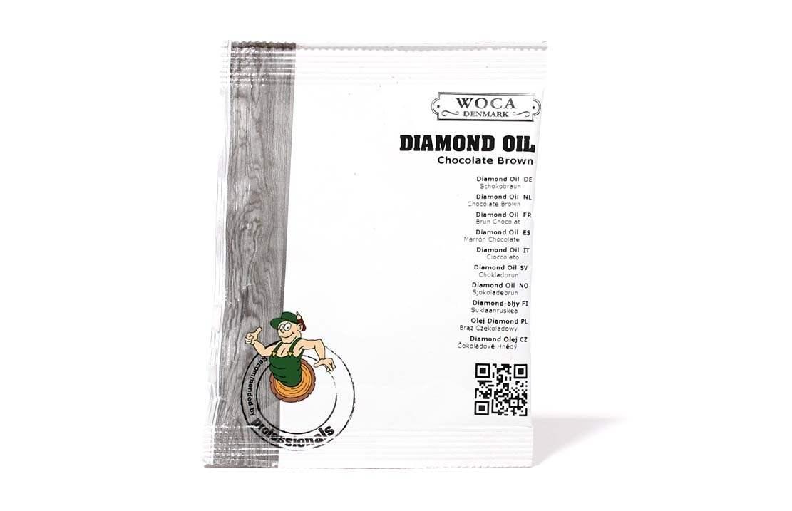 Diamond Öl Schokobraun ca. 25 ml Probe