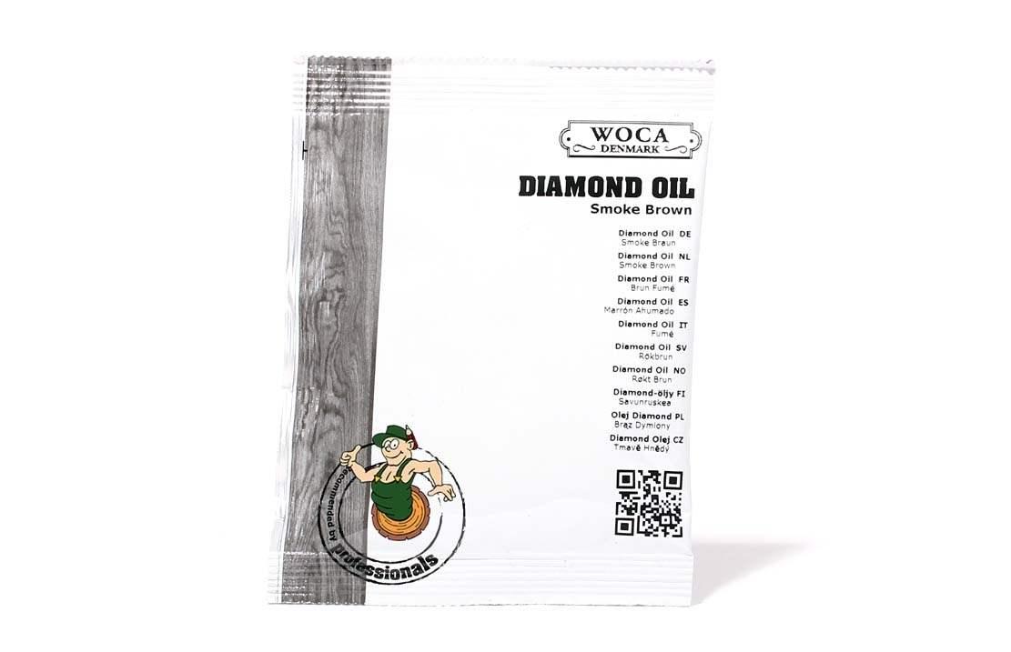 Diamond Öl Smokebraun ca. 25 ml Probe
