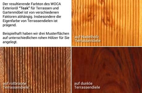 Exterior Öl Terrassenöl Teak 3 Liter Sonderaktion Bild 3